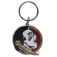 Florida St. Seminoles Enameled Key Chain